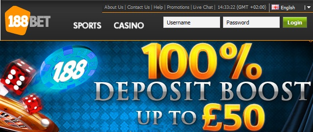 188Bet Betting Bonus