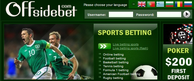 Offsidebet Betting Bonus