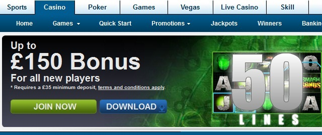 william hill online slots quasar game
