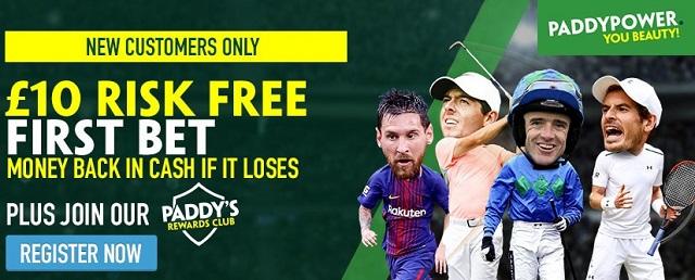Paddy Power Sports Betting